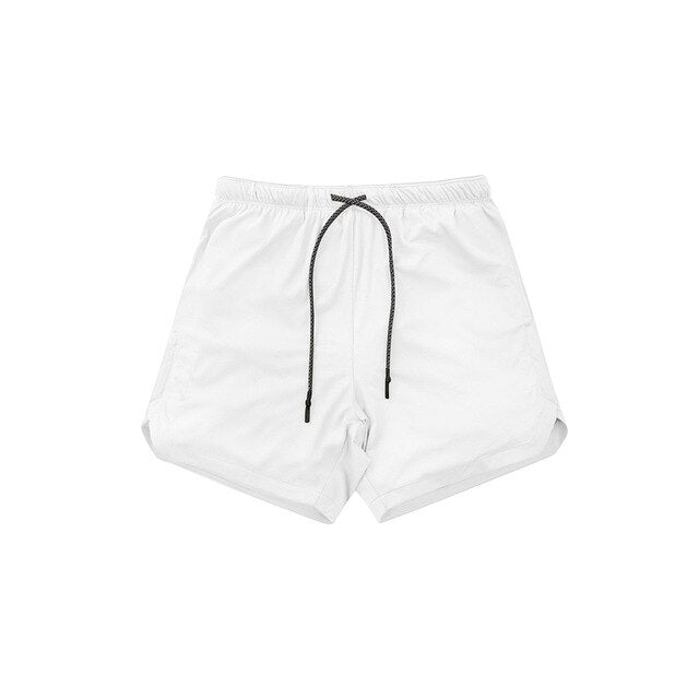 Men's 2 in 1 New Summer Secure Pocket Shorts