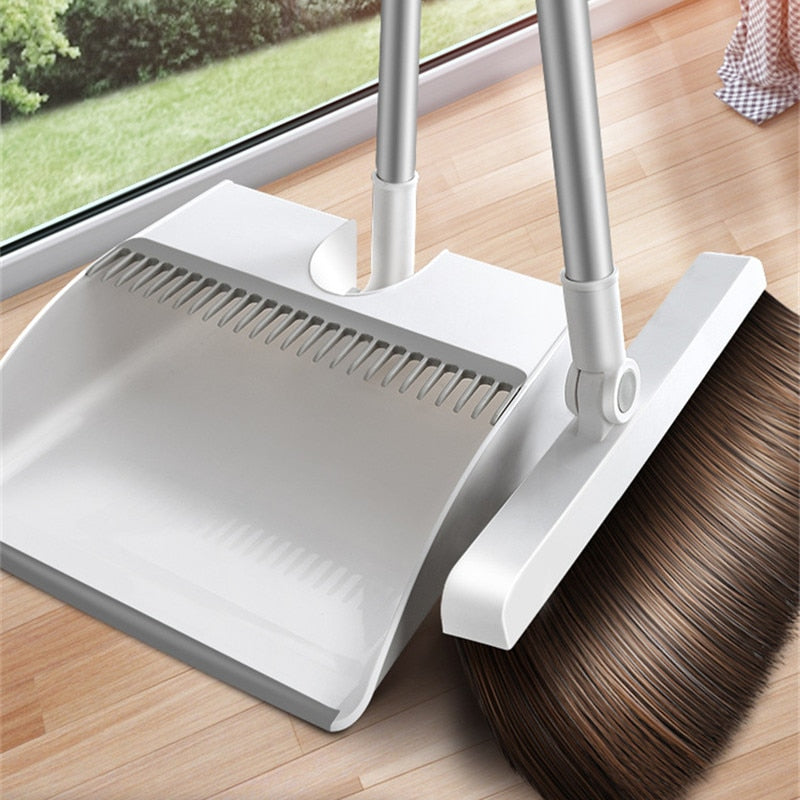Magnetic Broom and Dustpan Set