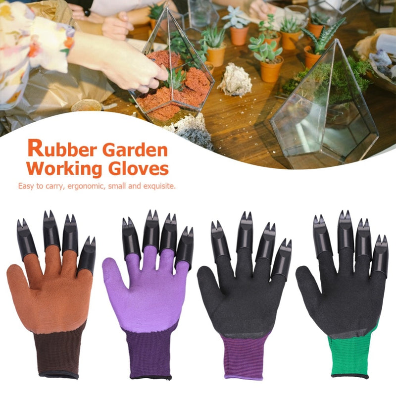 Garden Glove with Claws