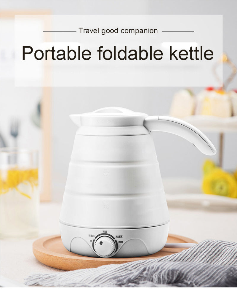 TRAVEL HOUSEHOLD PORTABLE MULTIFUNCTIONAL FOLDING KETTLE