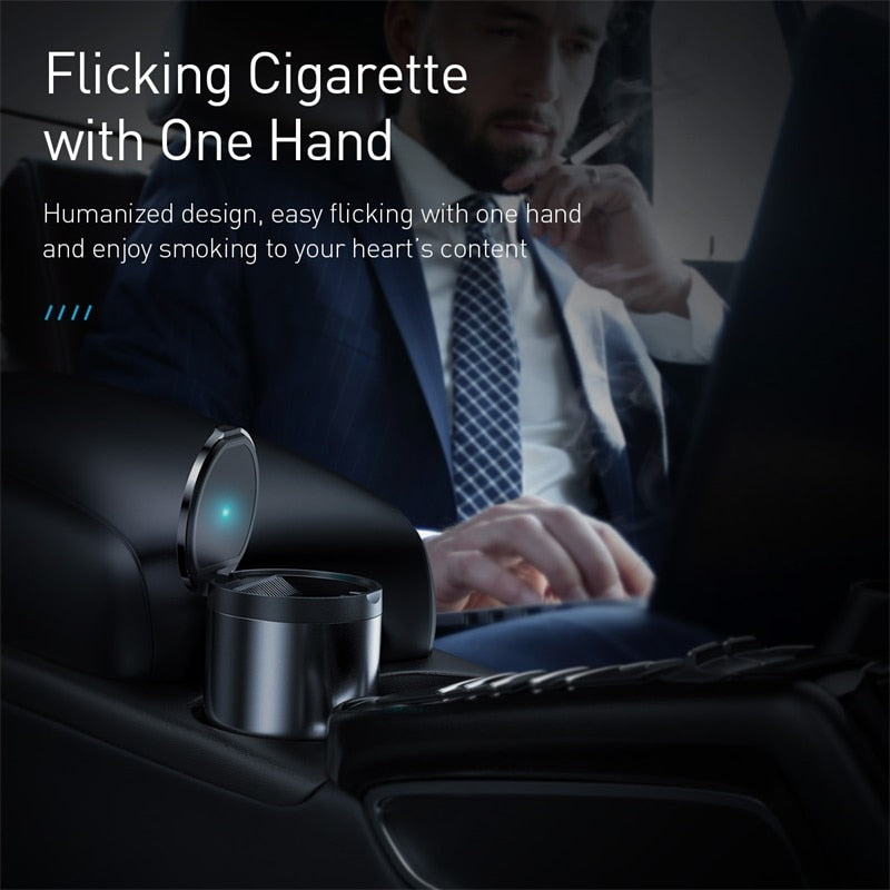 Portable Car Ashtray