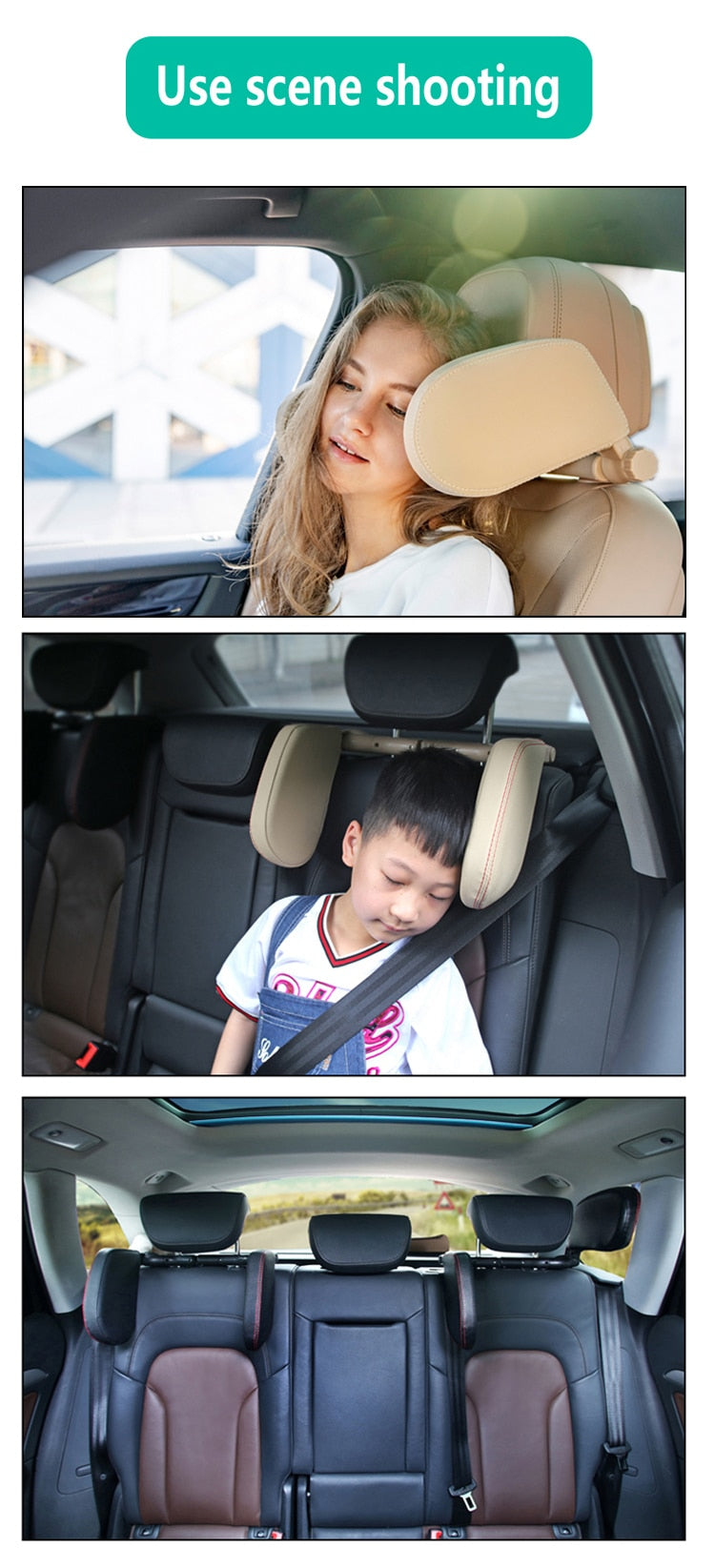 Neck Support Pillow For Car