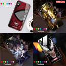 Smart flash glass shatter-resistant mobile phone case