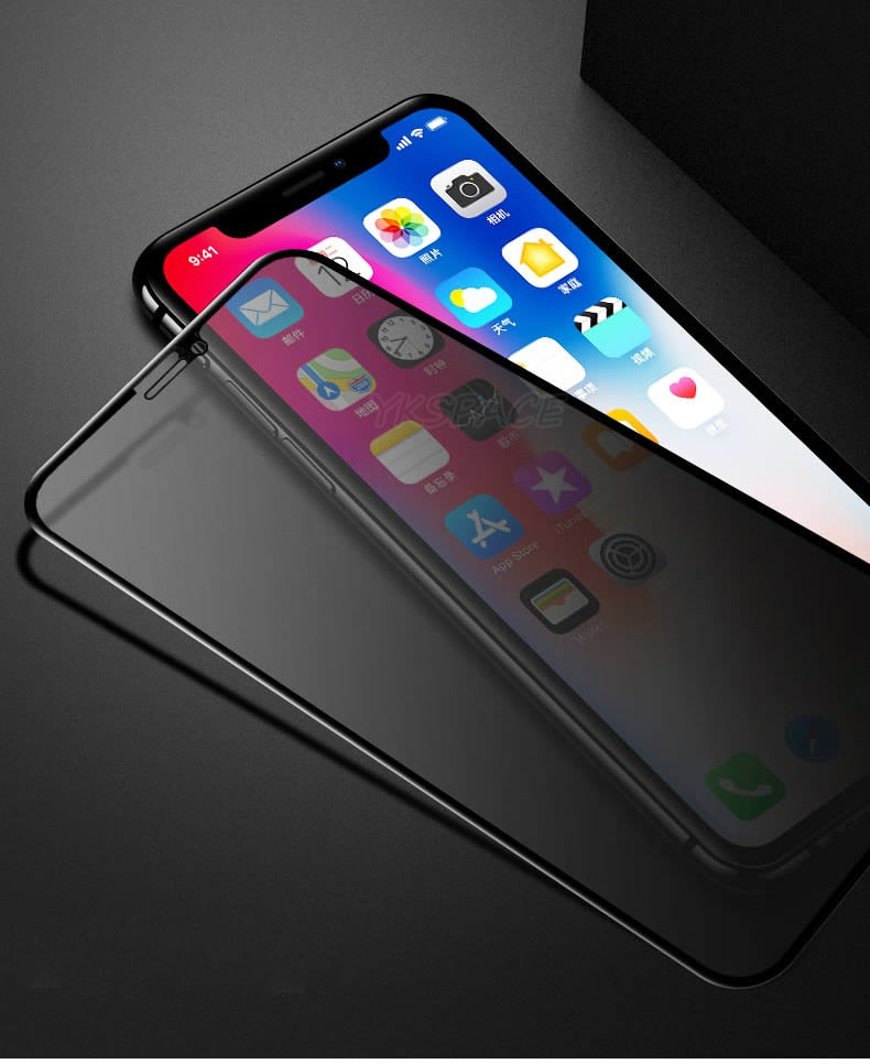 Ceramic Privacy Tempered Glass For iPhone