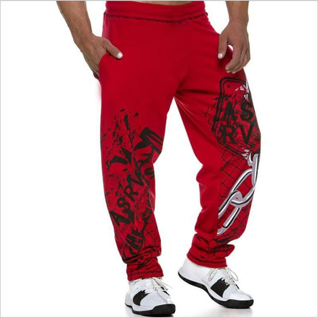 Mens Casual Sports Trousers