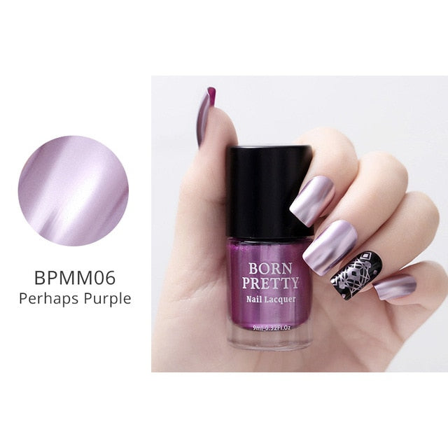 Metallic Mirror Nail Polish