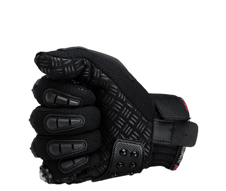 Madbike Motorcycle Gloves protective Gloves motorcycle Stainless Steel Sports Racing Road Gears Motorbike