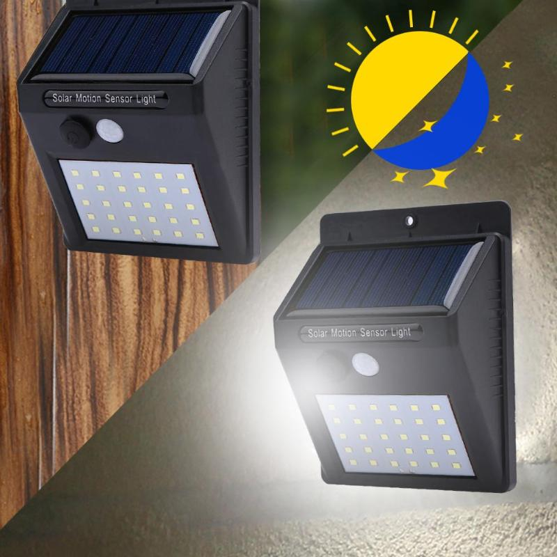 LumiGuard - Outdoor Waterproof Solar Sensor Motion LED Light by Boundery