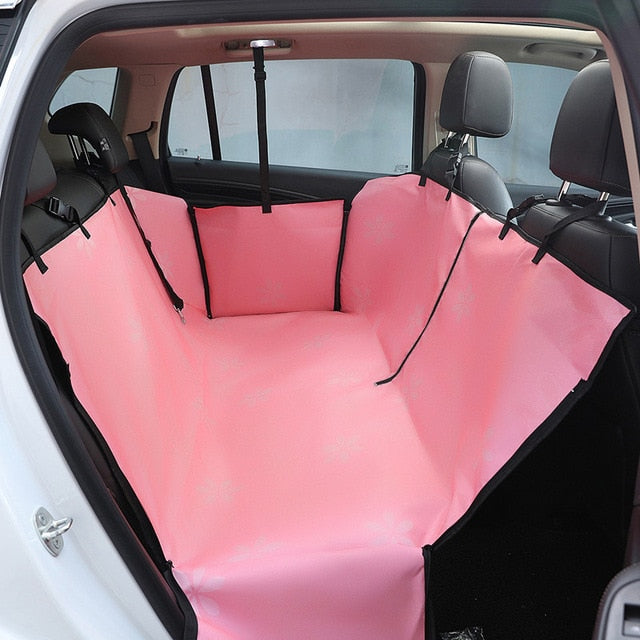Hammock Style Comfortable Pet Car Cover With Mesh Window