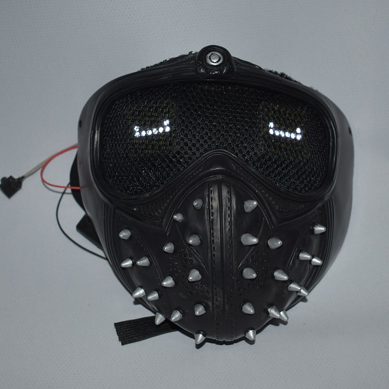 Wrench Inspired Led Mask! Programmable Led