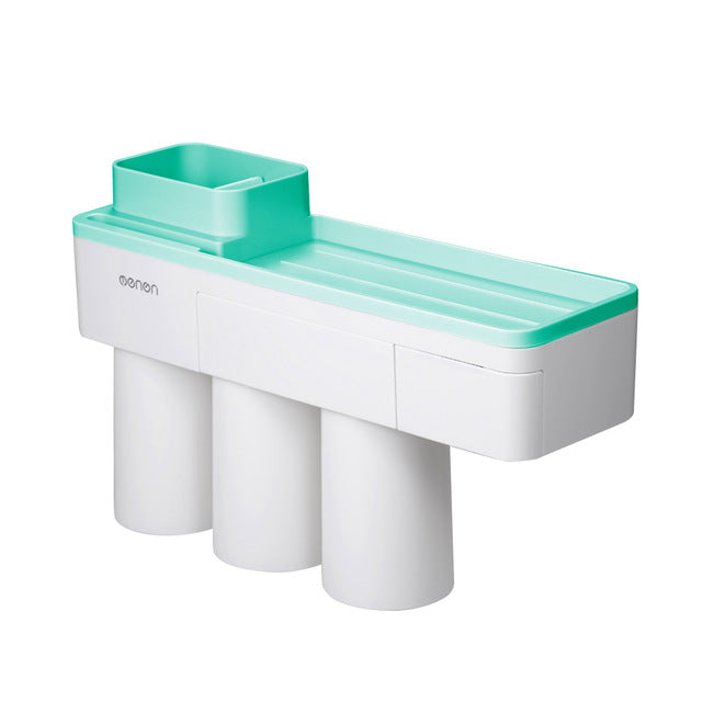 Auto-Squeezing Toothpaste Dispenser