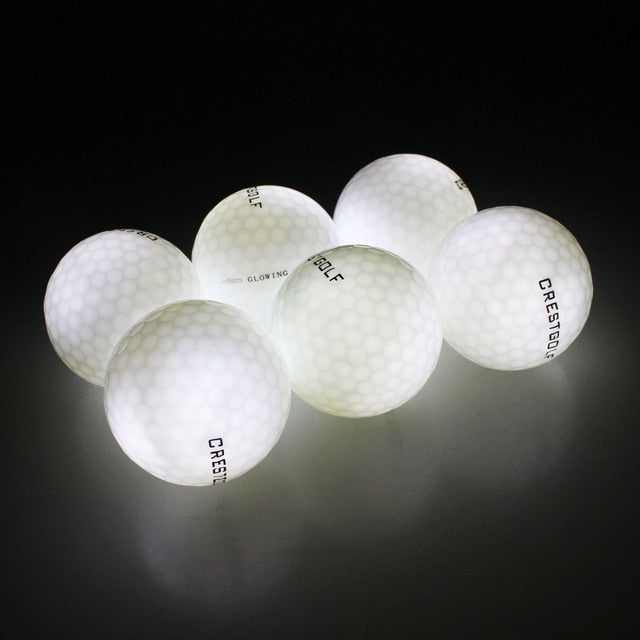Midnight Glowing Golf Balls