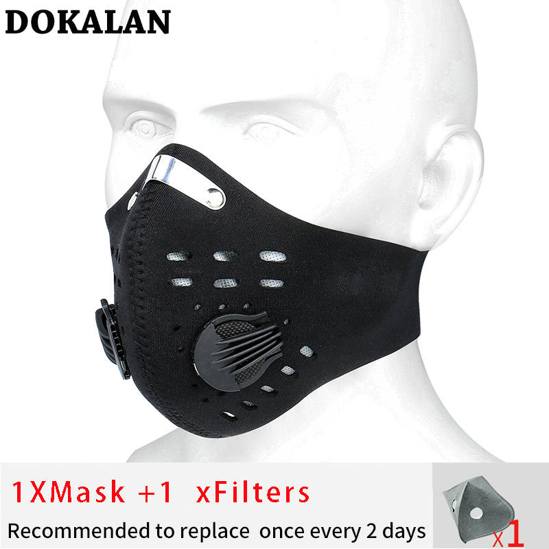 URBANXMASK - ANTI-POLLUTION CYCLING MASK