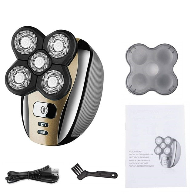 CleanCut 5 in 1 4D Rechargeable Electric Shaver
