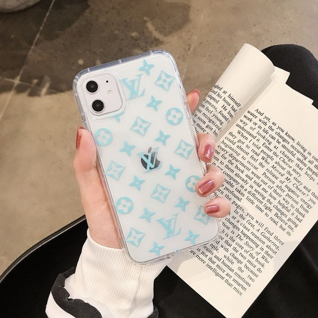 Transparent Silicone Phone Case For iPhone