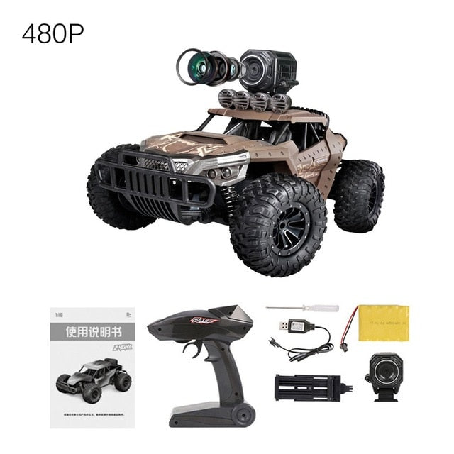 RC Rock Crusher Buggy with WIFI HD Camera
