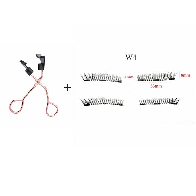 Lasher Magnetic Lashes Clip & Eyelashes Set