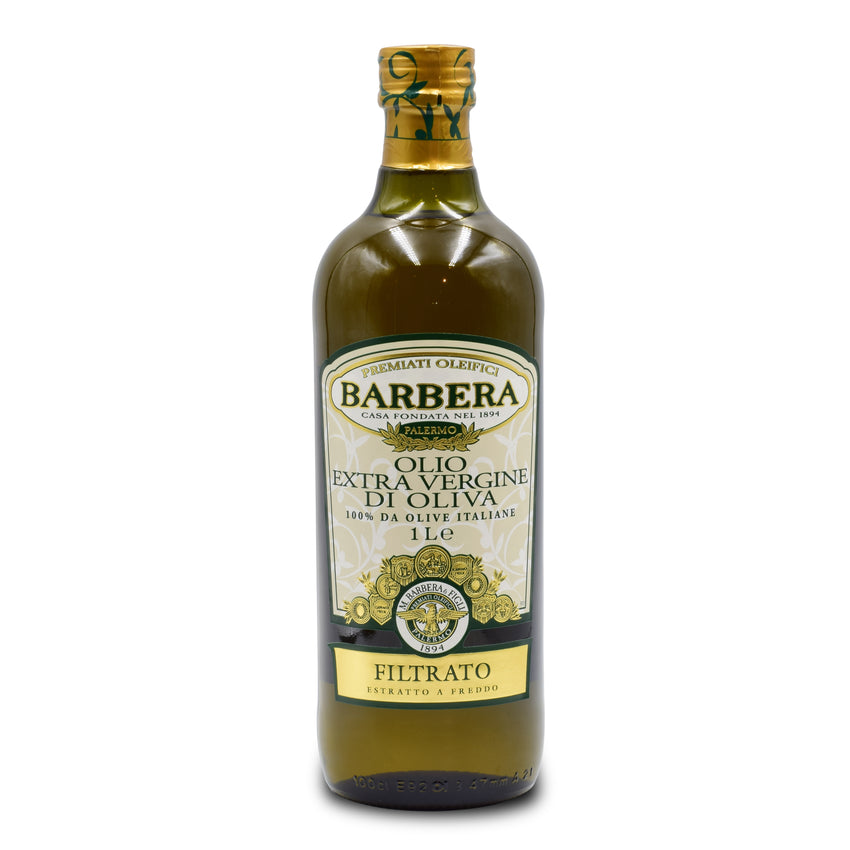 OLIO EVO BARBERA - GOLD LABEL - 1 LT BOTTLE