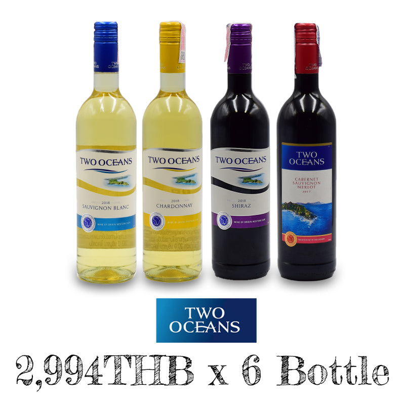 6 BOTTLES PROMOTION - Two Oceans