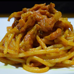 BUCATINI ALL' AMATRICIANA