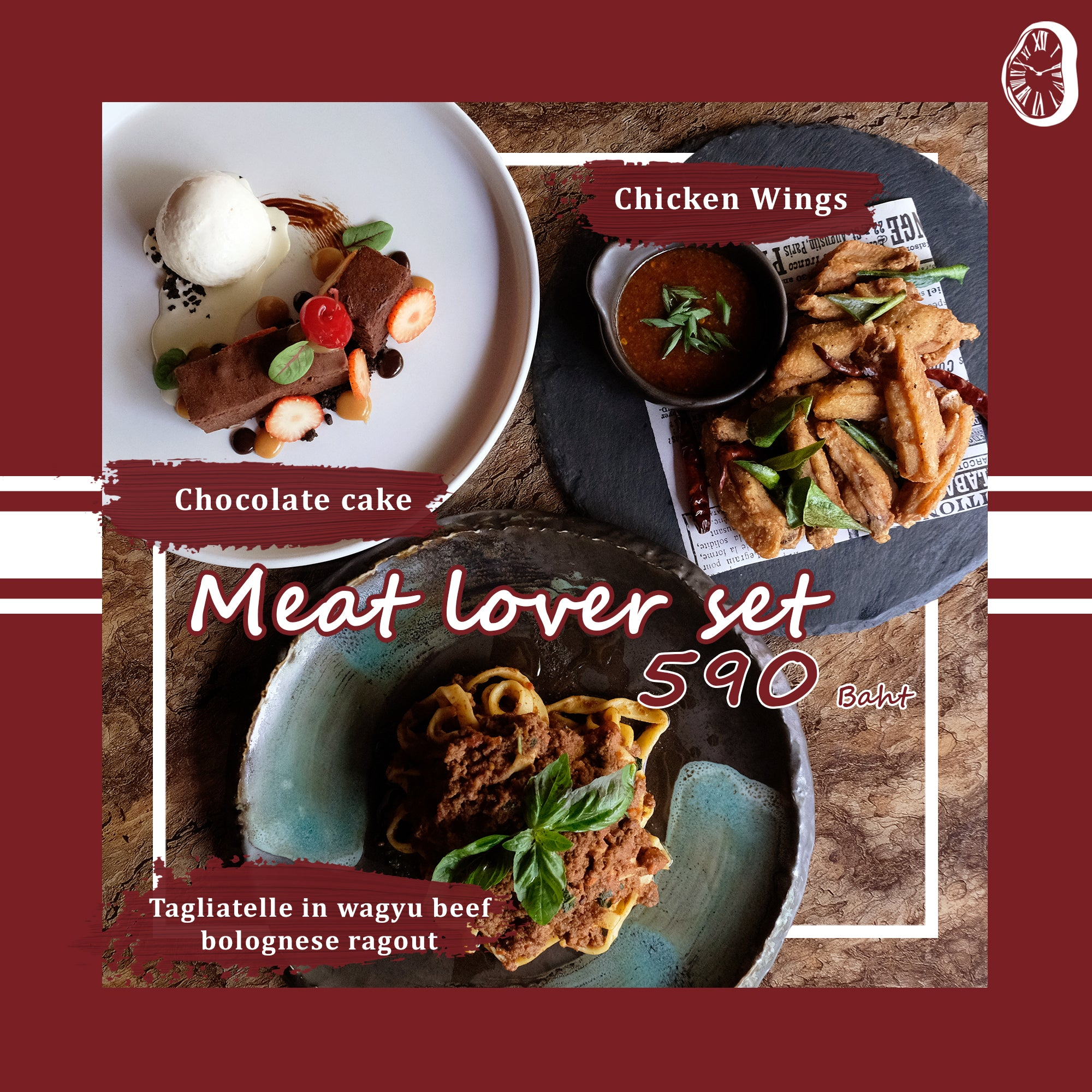 MEAT LOVER - SET MENU