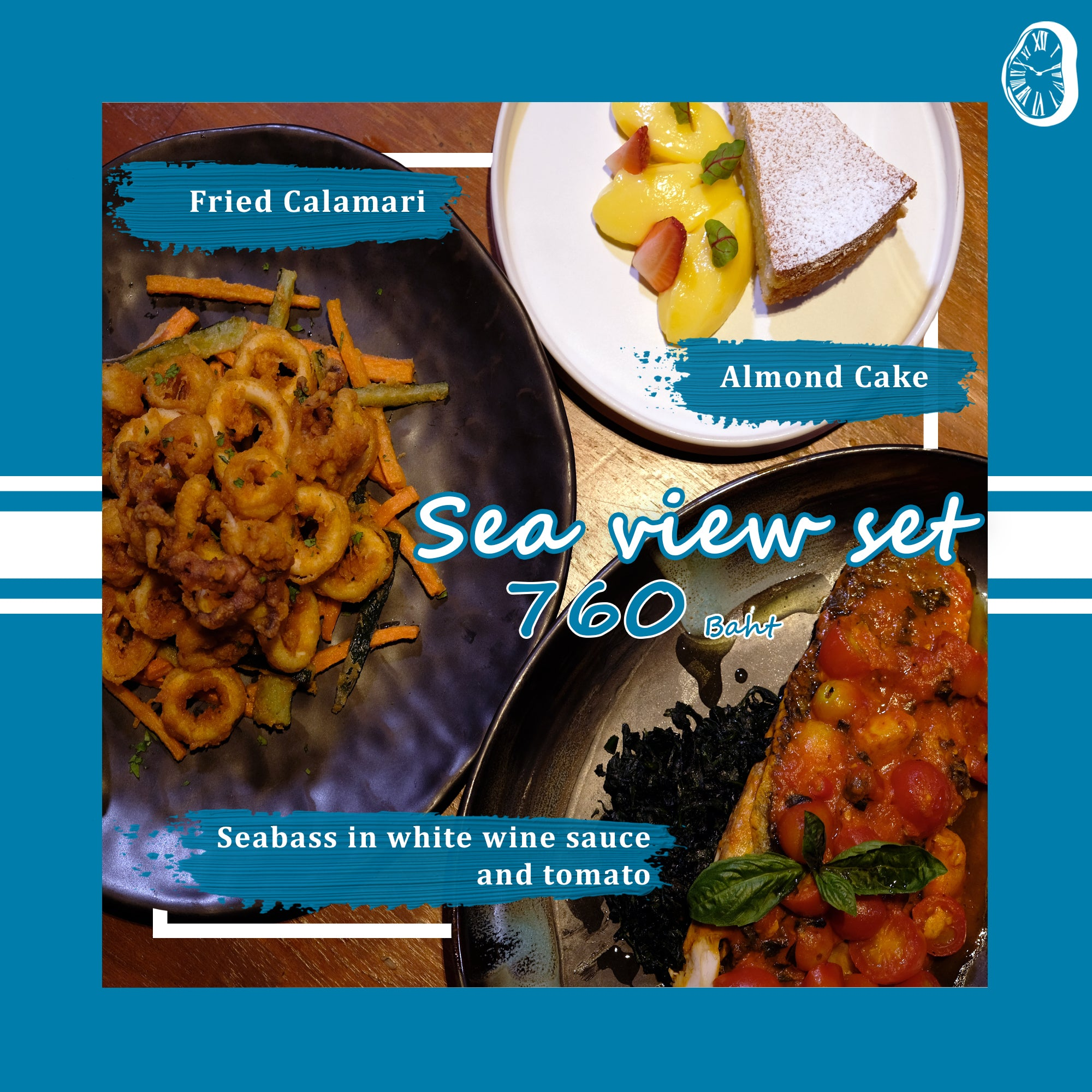 SEA VIEW - SET MENU