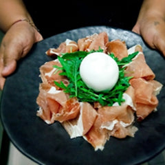 PARMA HAM AND BURRATA