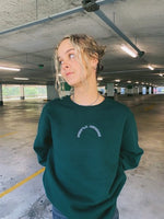 Load image into Gallery viewer, Forest Green Crew Neck