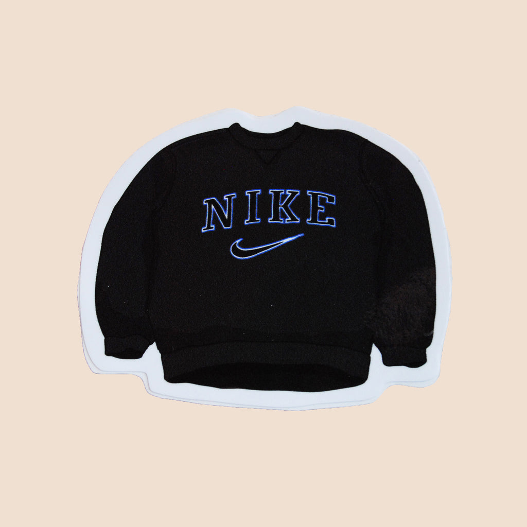 Nike big logo sweatshirt stickers