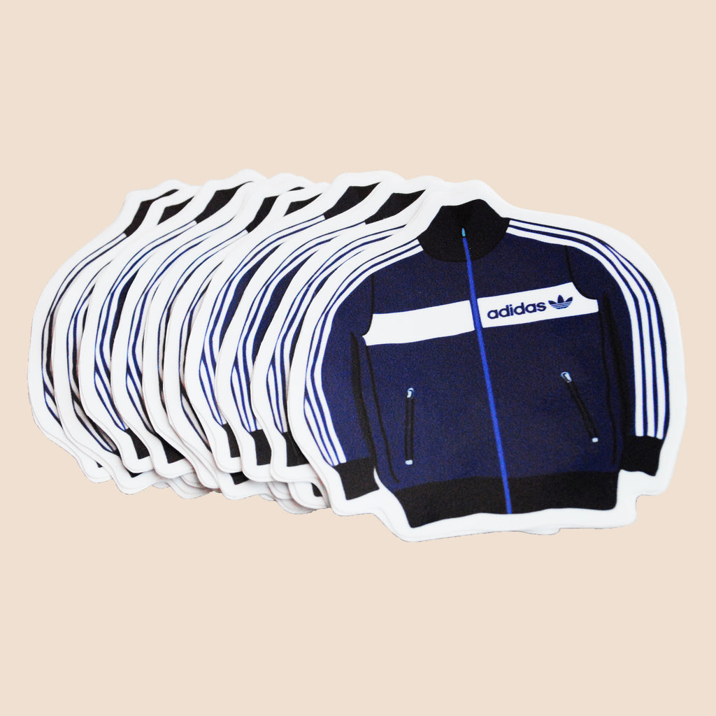 adidas track jacket stickers