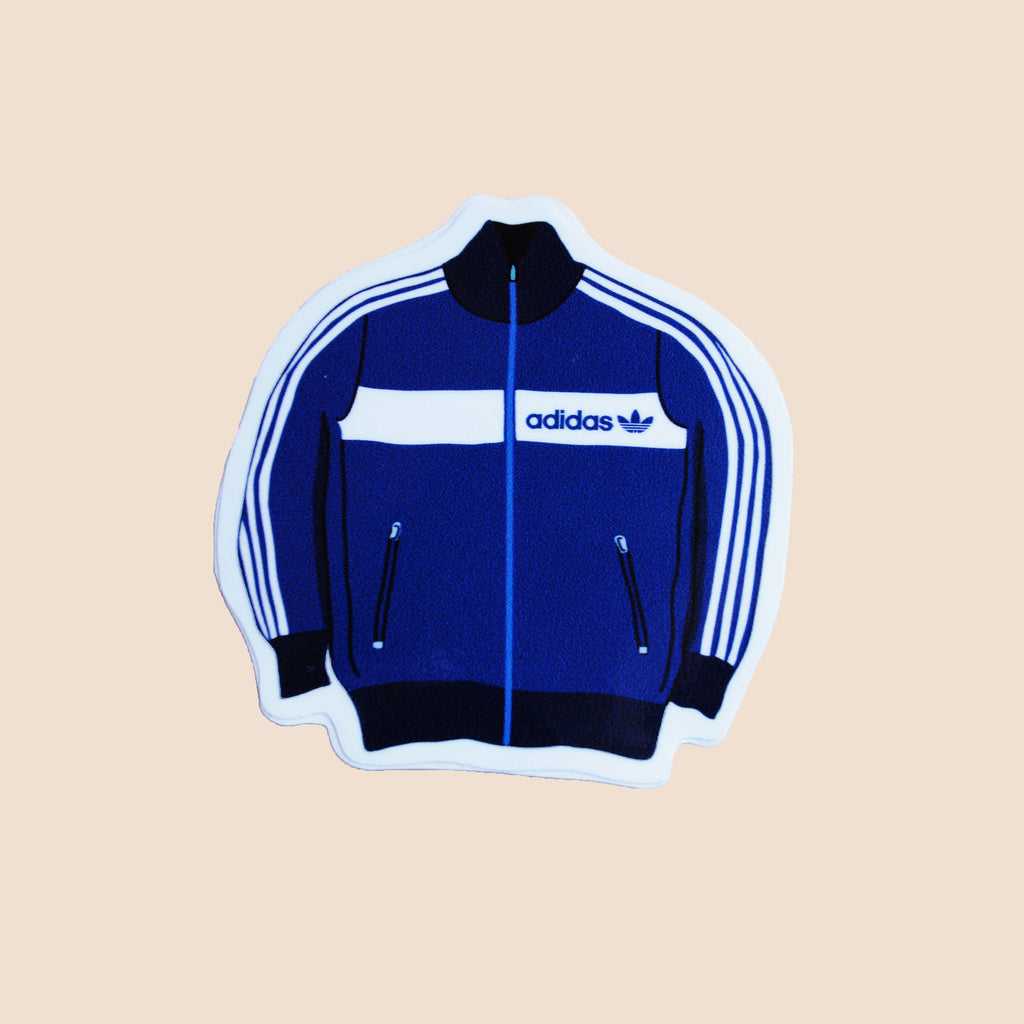 vintage adidas track jacket sticker