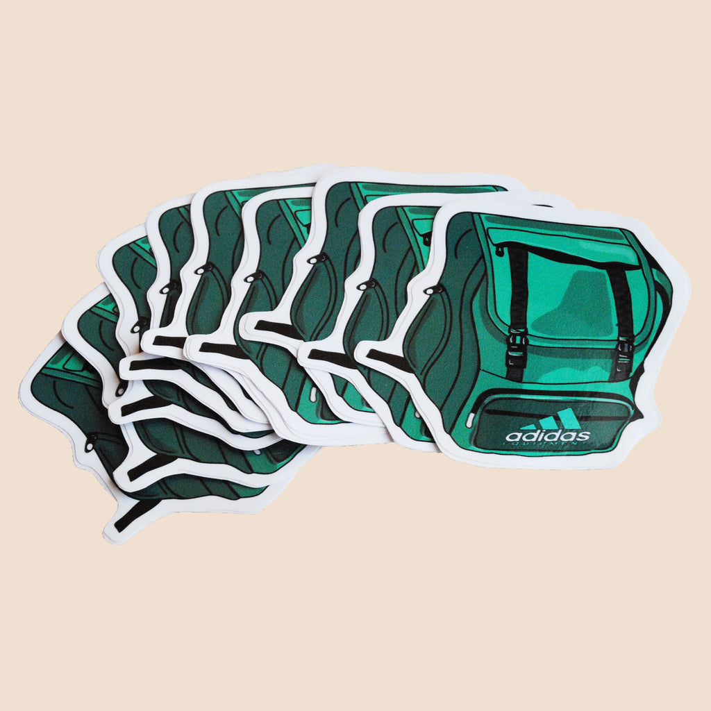 adidas equipment backpack stickers