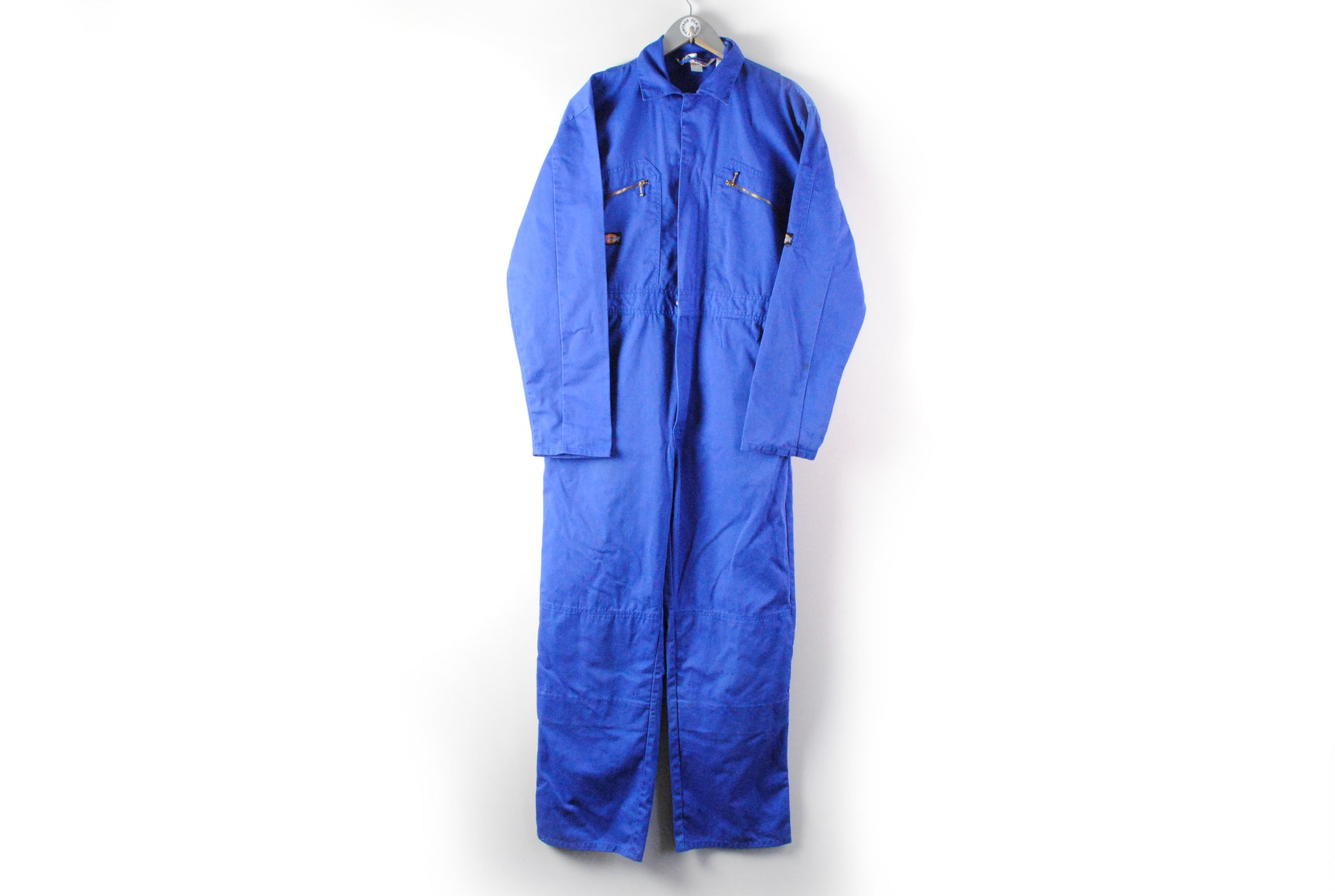 Vintage Dickies Coverall Redhawk Large blue 90s retro overall work wear