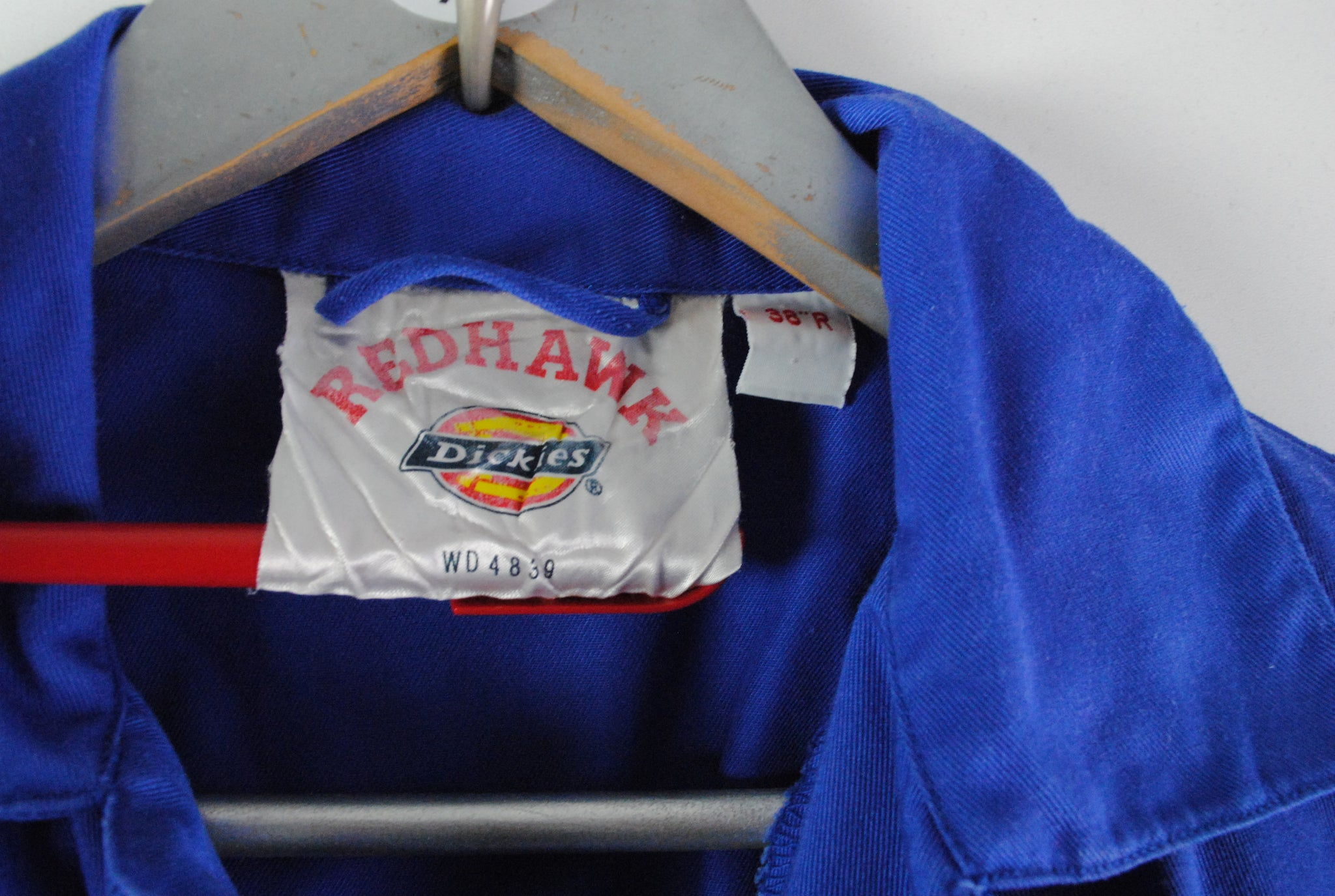 Vintage Dickies Coverall Redhawk Large