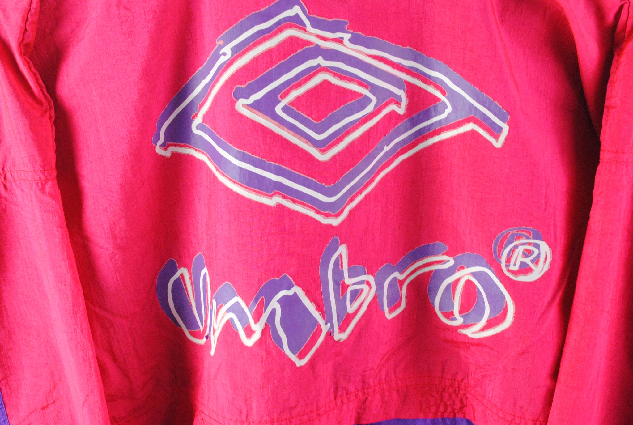 Vintage Umbro Windbreaker Jacket Small