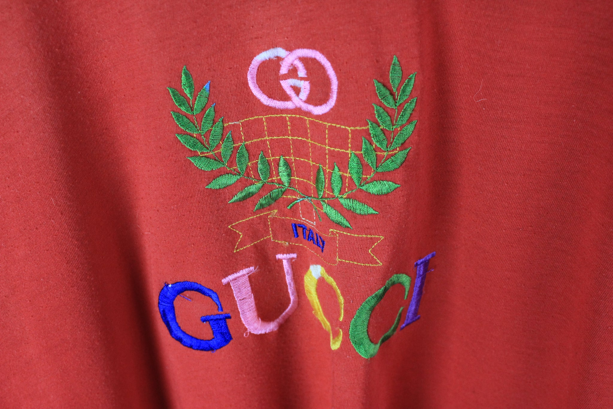 Vintage Gucci Bootleg T-Shirt Women's Medium