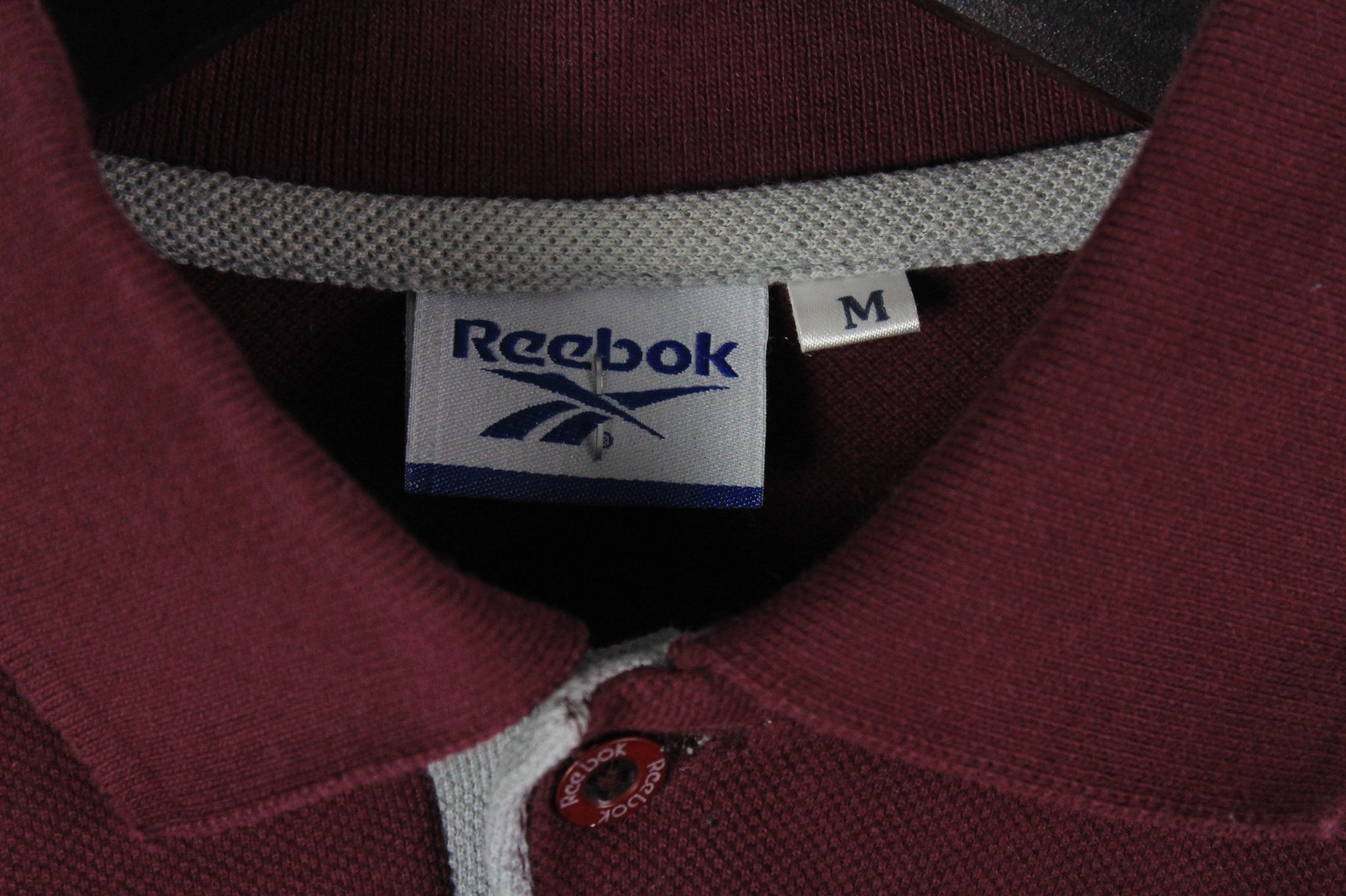 Vintage Reebok Rugby Shirt Medium