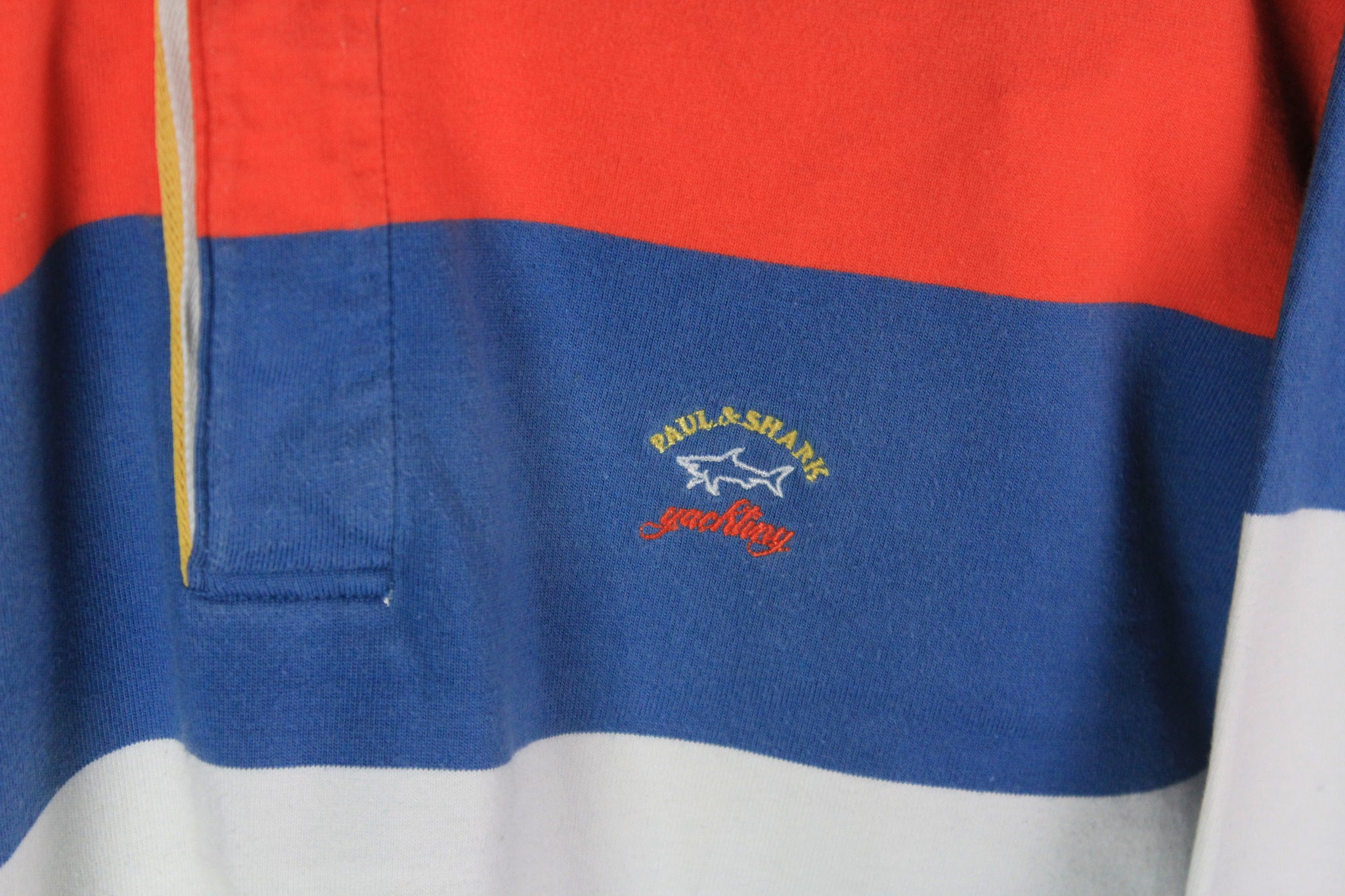 Vintage Paul & Shark Rugby Shirt XLarge