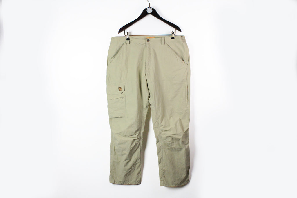 Fjallraven Pants Size 58 beige retro style outdoor G1000 trousers