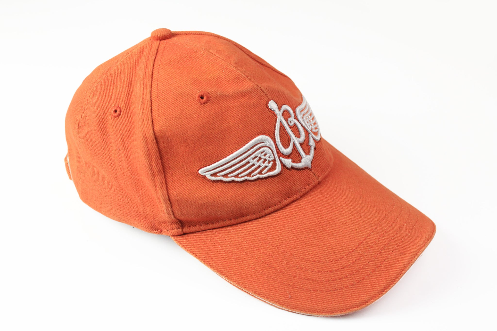 Breitling Cap orange big logo cotton heavy classic watch hat