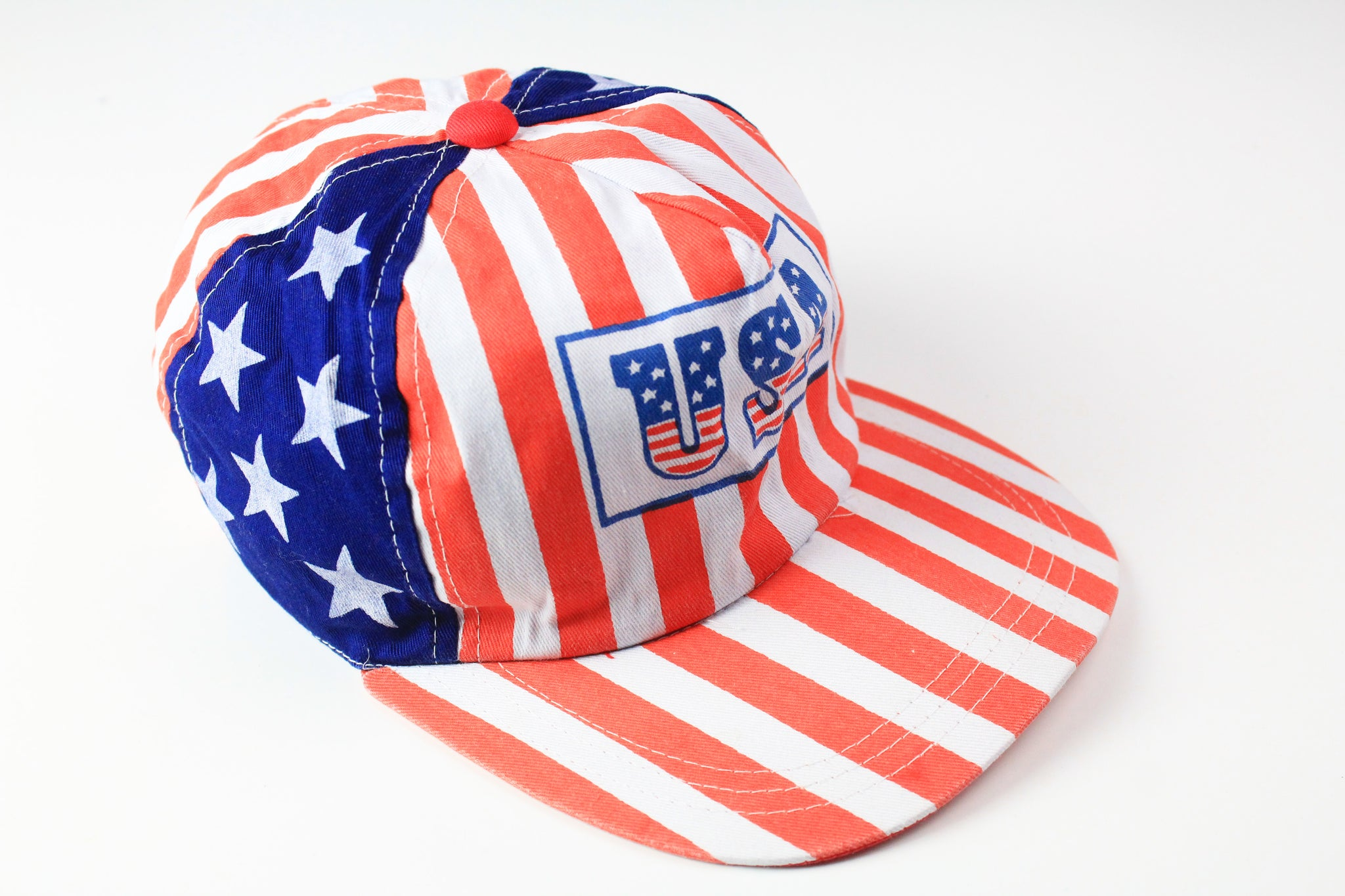 Vintage USA Cap multicolor American Flag