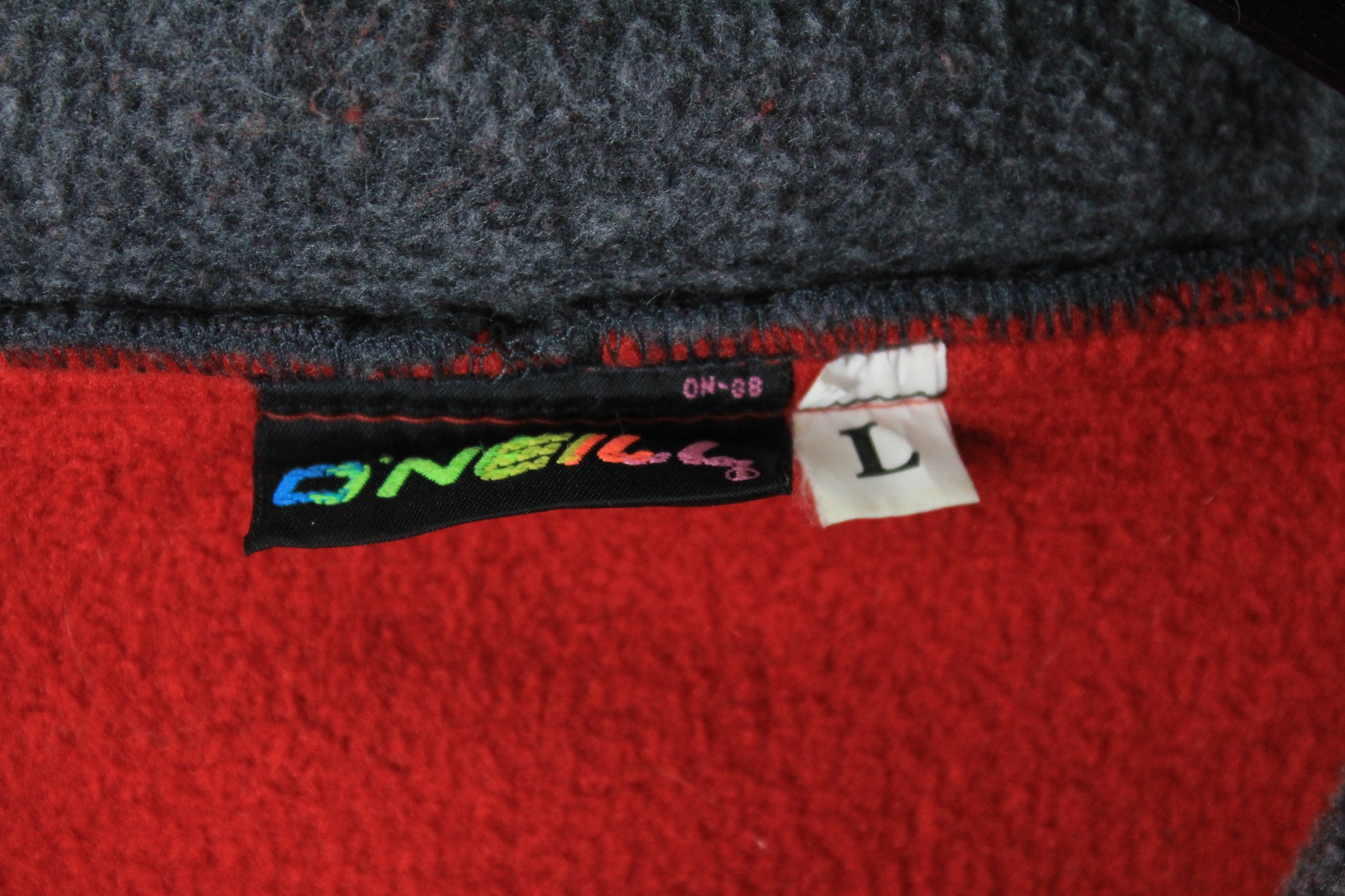 Vintage O'Neill Fleece Half Zip Medium