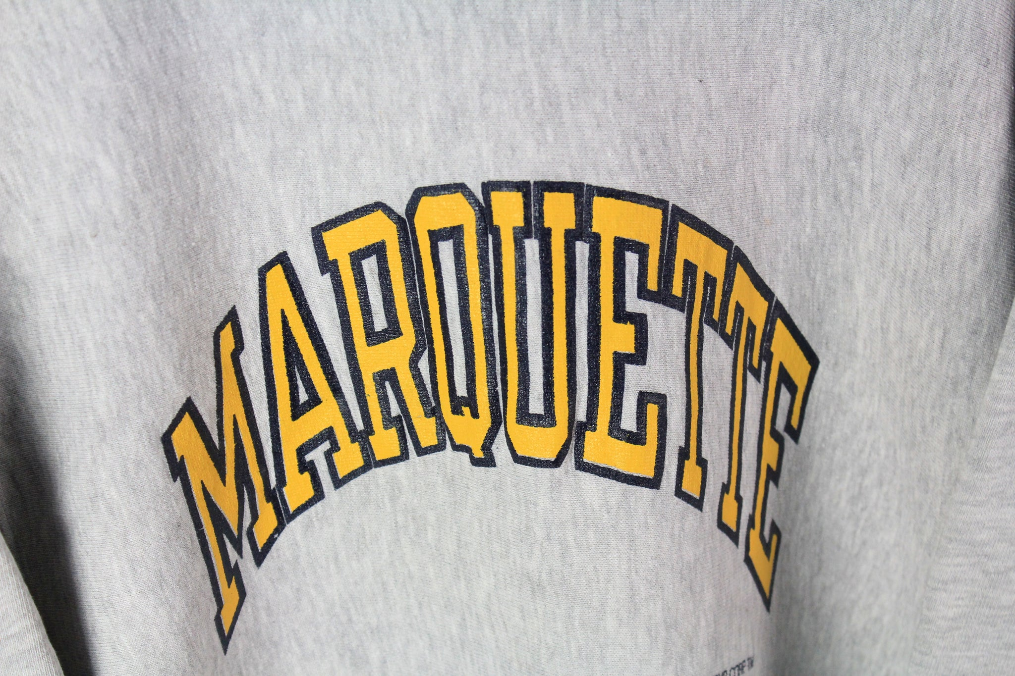 Vintage Marquette Sweatshirt Medium