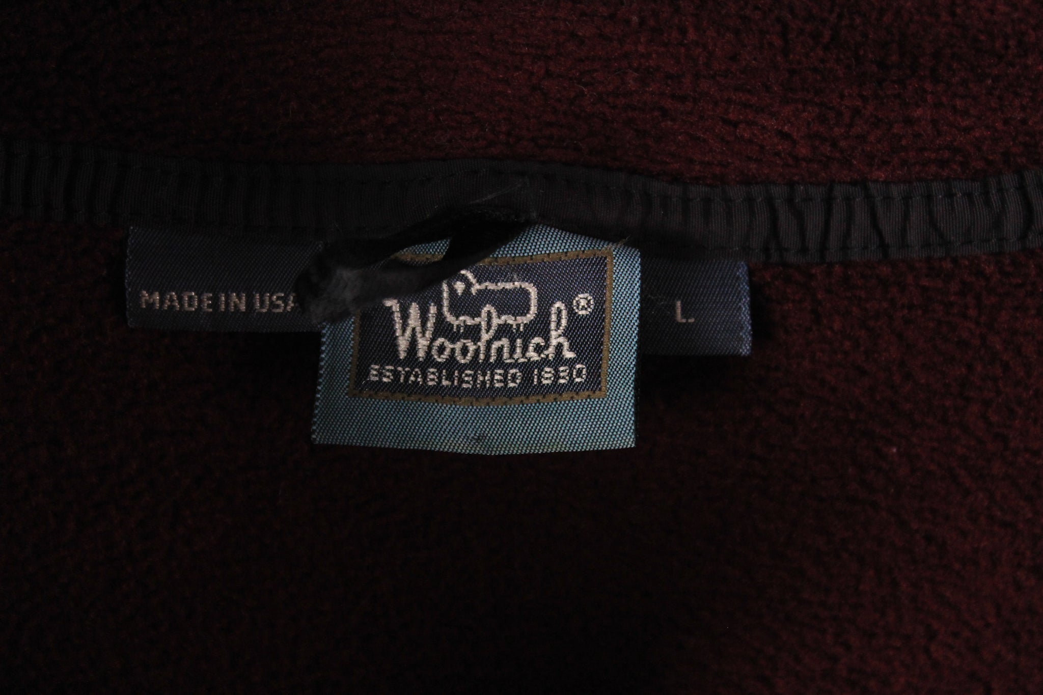 Vintage Woolrich Fleece Medium / Large