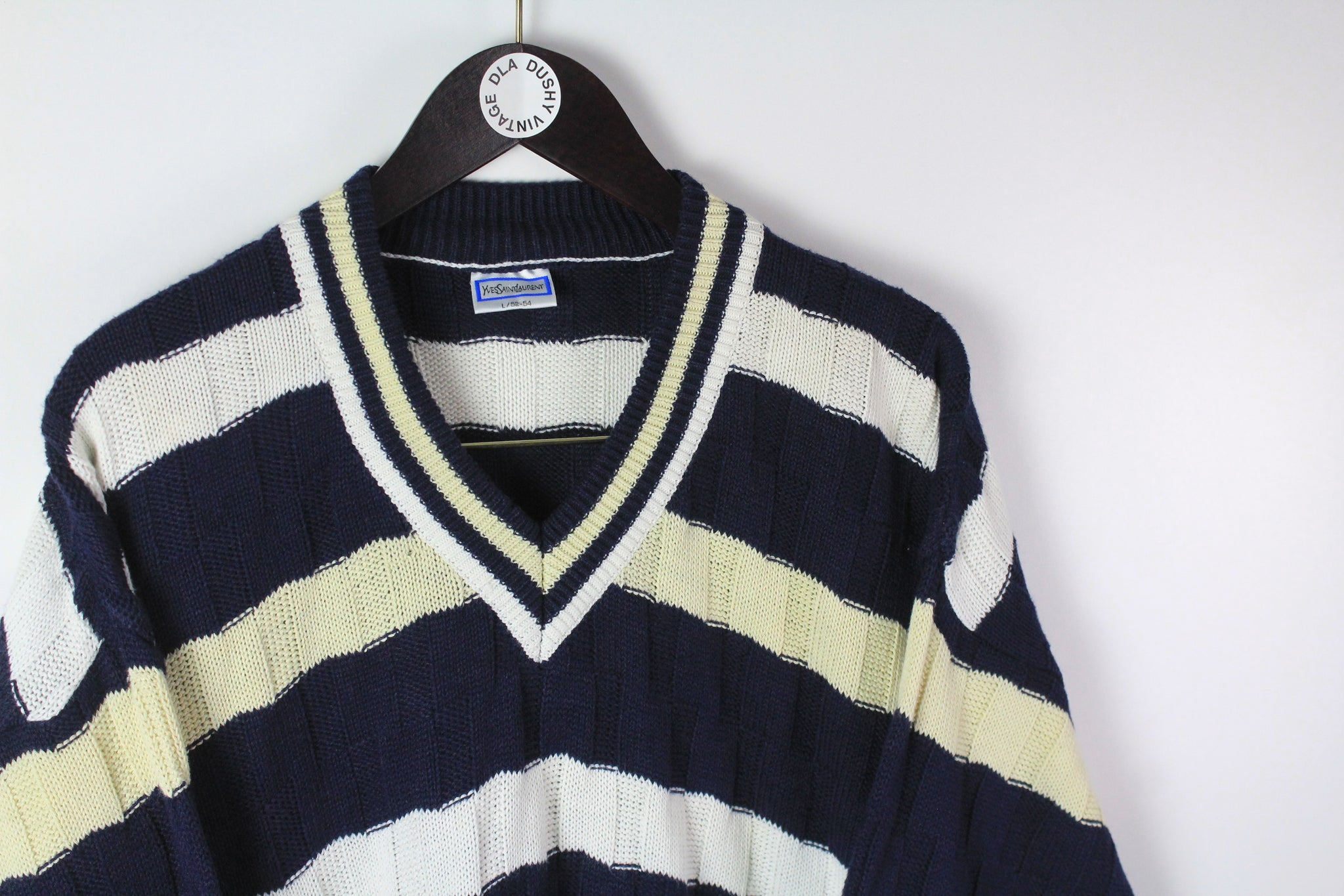 Vintage Yves Saint Laurent Sweater Large