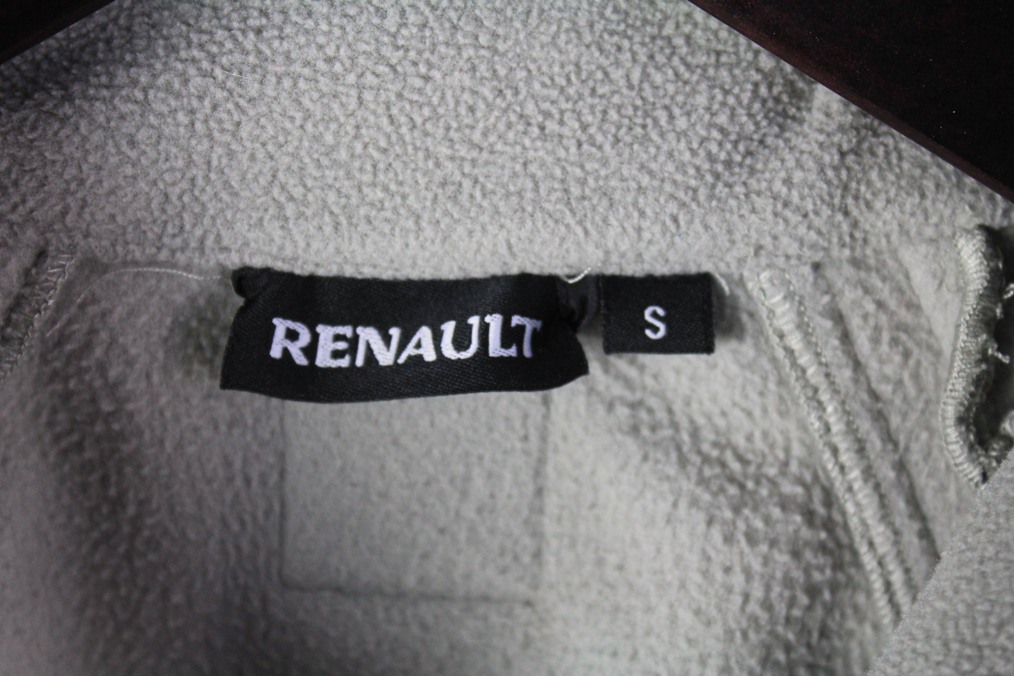 Vintage Renault Fleece Full Zip Small