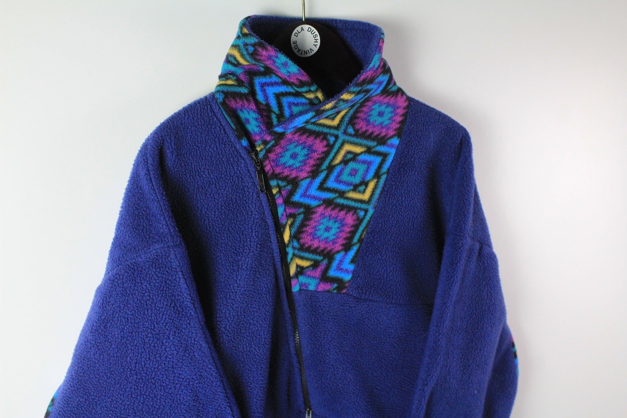 Vintage Fleece Half Zip Women's XLarge