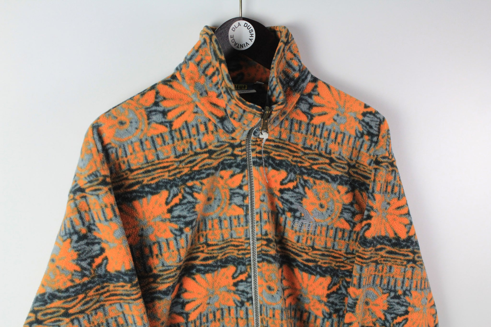 Vintage Salewa Fleece Full Zip Medium