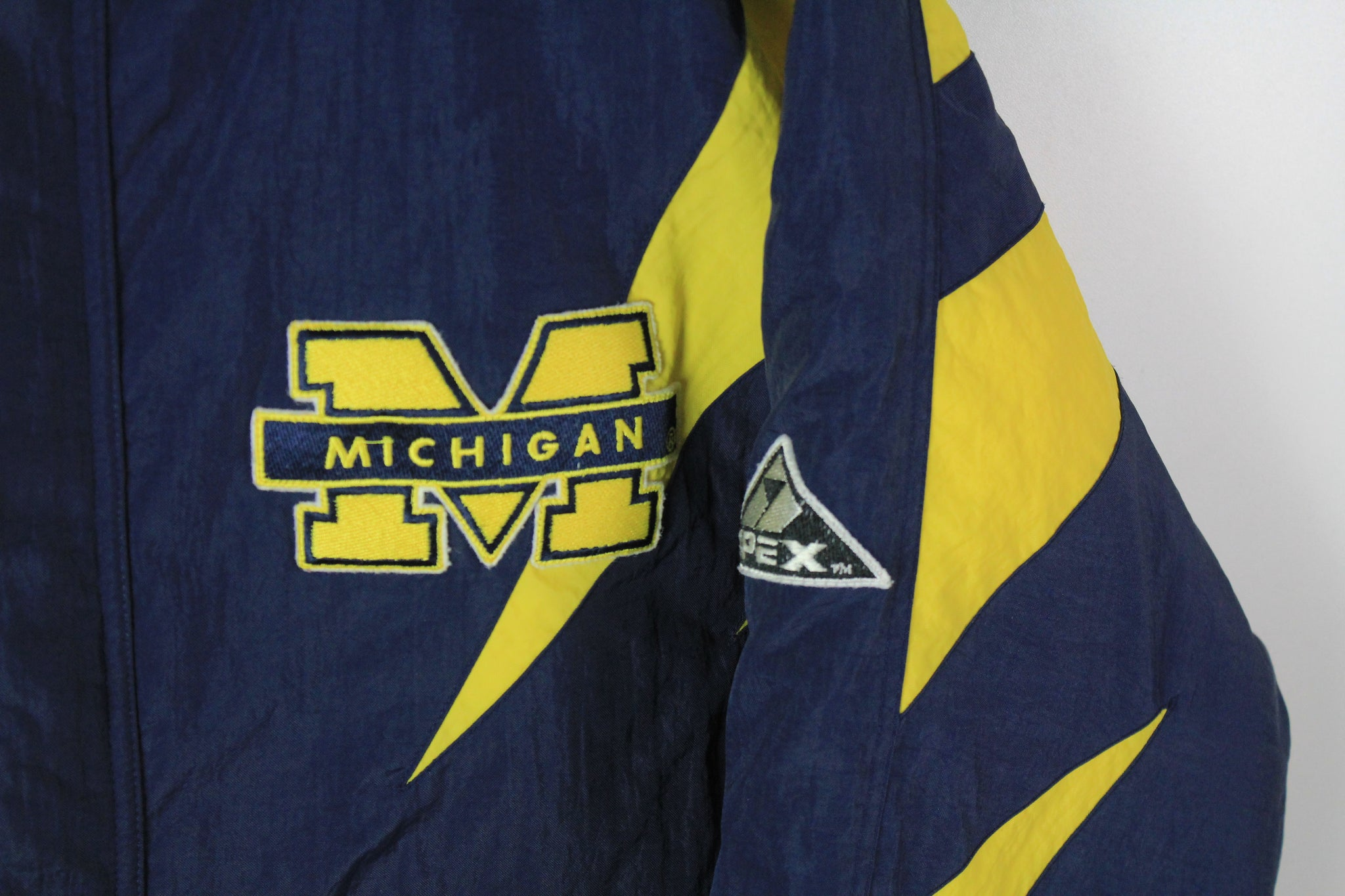 Vintage Michigan Wolverines Apex One Jacket Large / XLarge