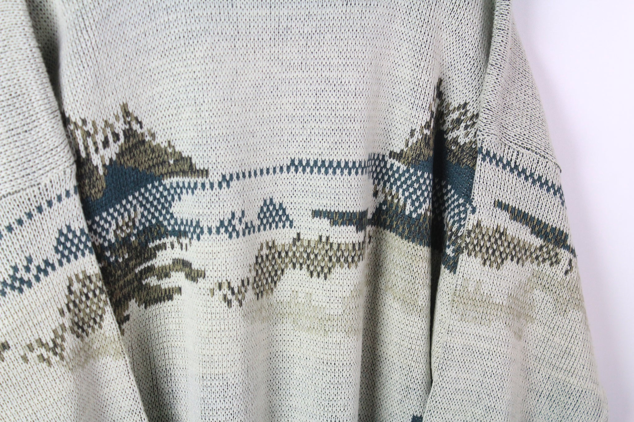 Vintage Hunting Sweater XLarge